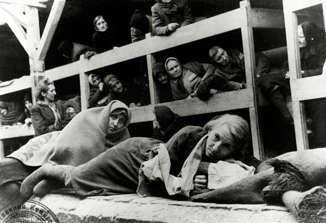 Barracón Auschwitz